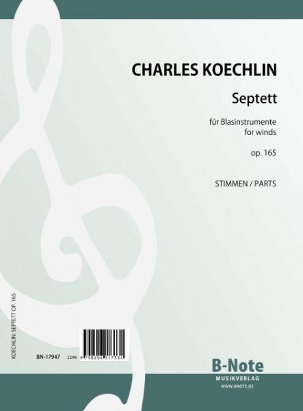 Koechlin: Septett für Blasinstrumente op.165 (Part./Stimmen)