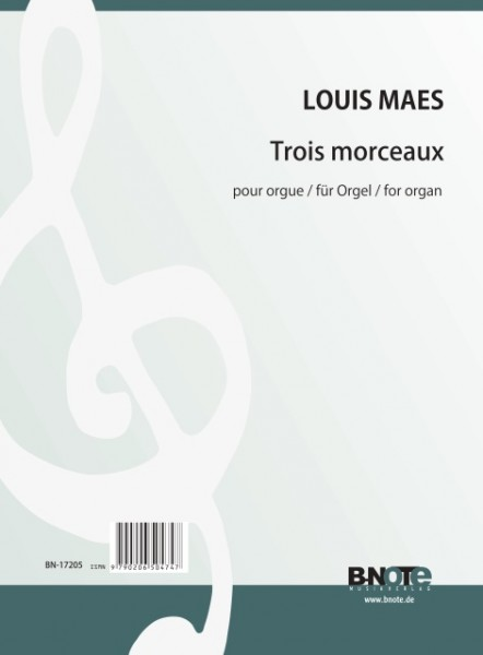 Maes: Three pices for organ