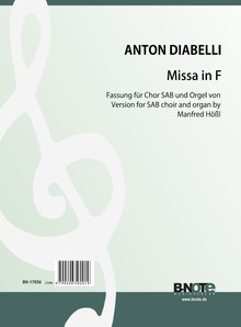 Diabelli: Missa in F for SAB choir and organ