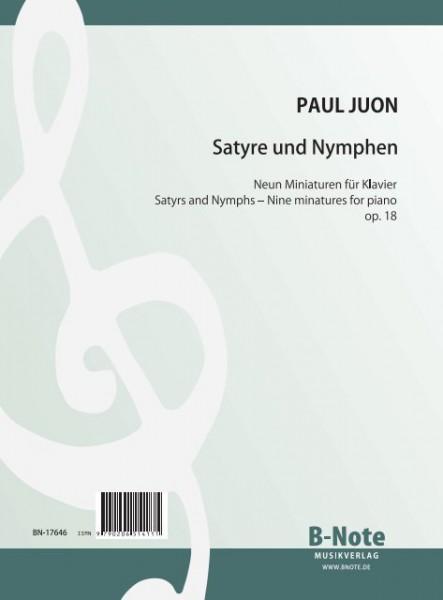 Juon: Satyre und Nymphen – Neun Miniaturen für Klavier op.18