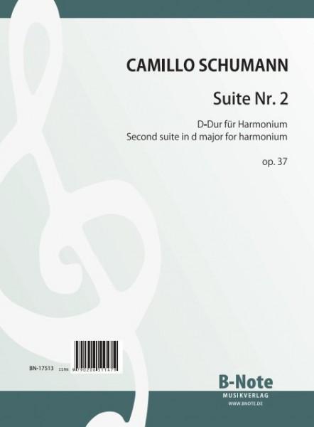 Schumann: Suite Nr. 2 D-Dur für Harmonium op.37