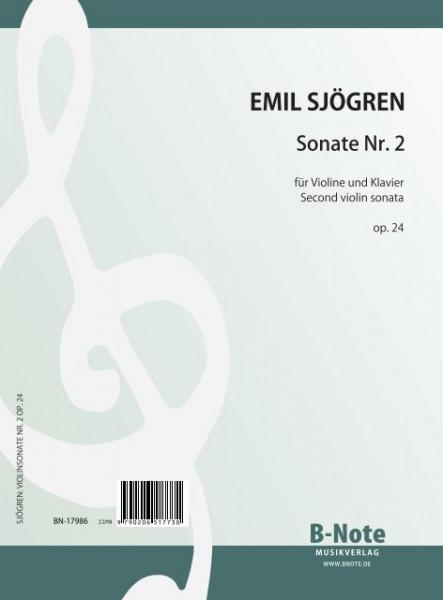 Sjögren: Second violin sonata op. 24