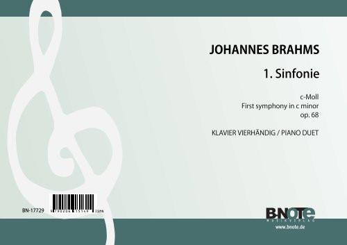 Brahms: First symphony in c minor op.68 (Arr. piano duet)
