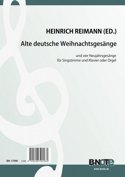 Reimann: Old german christmas songs for voice and piano (organ)