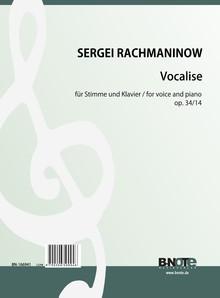 Rachmaninow: Vocalise für Singstimme und Klavier op.34/14