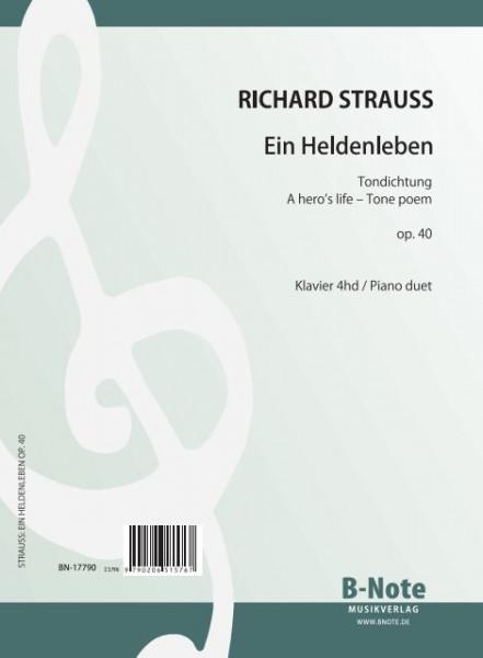 Strauss: Ein Heldenleben op.40 (Arr. Klavier 4hd)