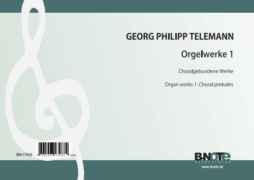 Telemann: Oeuvres pour orgue 1: préludes chorales