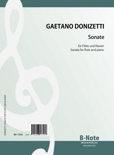Donizetti: Sonate für Flöte und Klavier