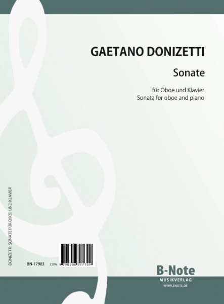 Donizetti: Sonate für Oboe und Klavier