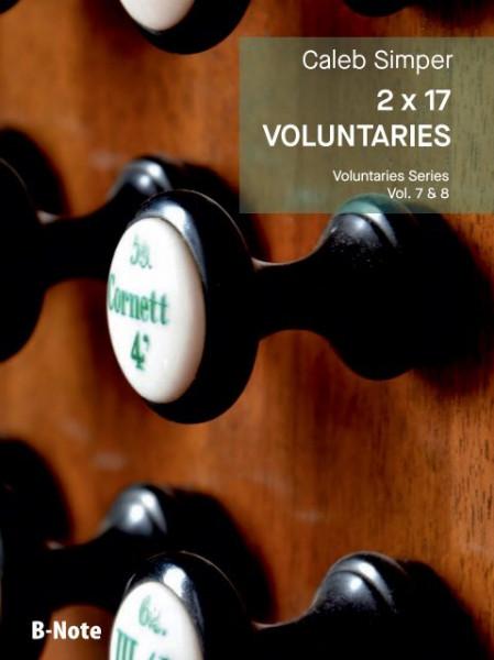 Simper: 2 x 17 Voluntaries für Orgel (man.) Vol. 7/8
