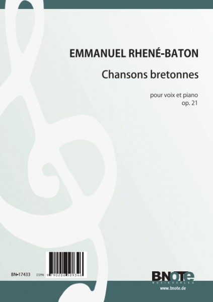 Rhené-Baton: Eight Chansons bretonnes for voice and piano