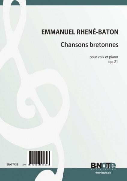 Rhené-Baton: Acht Chansons bretonnes für Singstimme und Klavier