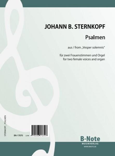 """Sternkopf: Psalmen aus """"Vesper solemnis"""" für zwei Frauenstimmen und Orgel"""