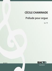Chaminade: Prélude pour Orgue op.87