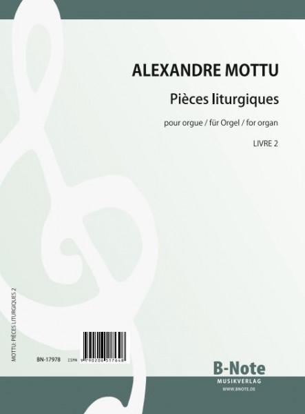Mottu: Pièces liturgiques für Orgel Vol.2