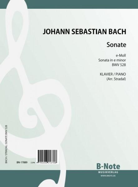 Bach: Trio sonata in e minor BWV 528 (arr. piano)