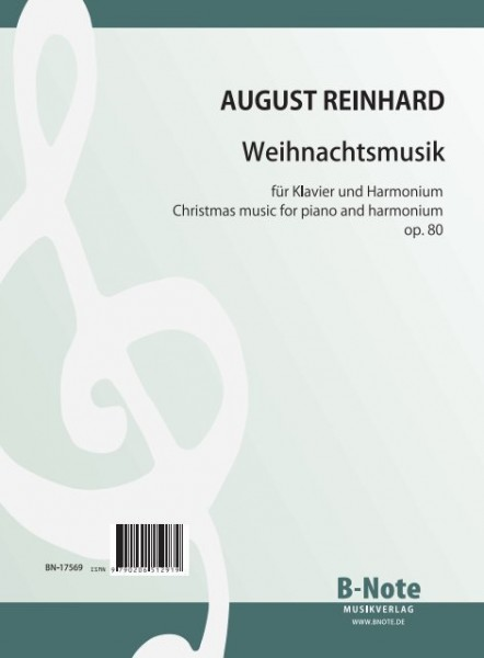 Reinhard: Fantasia on well known christmas songs for piano and harmonium (2 pno.) op.80