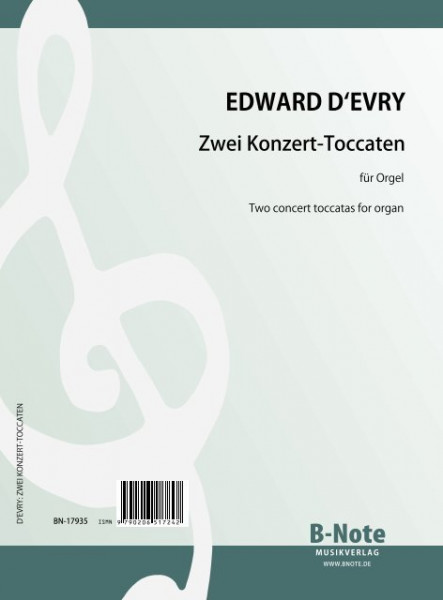 d'Evry: Two concert toccatas for organ