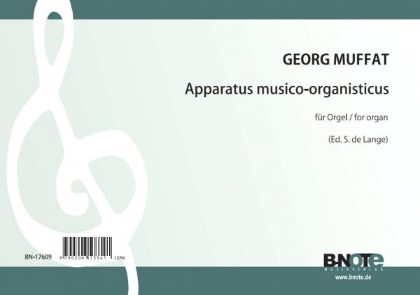Muffat: Apparatus musico-organisticus pour orgue