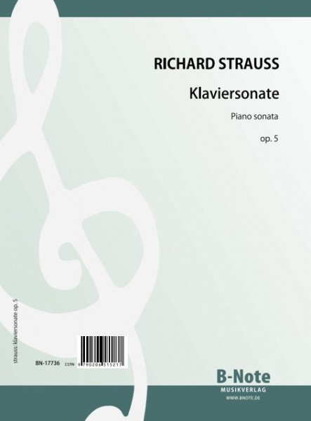 Strauss: Sonate pour piano op.5