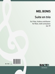 Bonis: Suite en trio for flute, violin and piano op.59