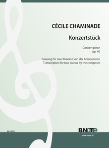Chaminade: Concert piece op.40 (two pianos)