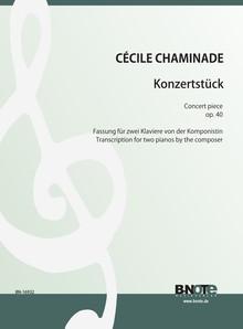 Chaminade: Konzertstück op.40 (Fassung für zwei Klaviere)