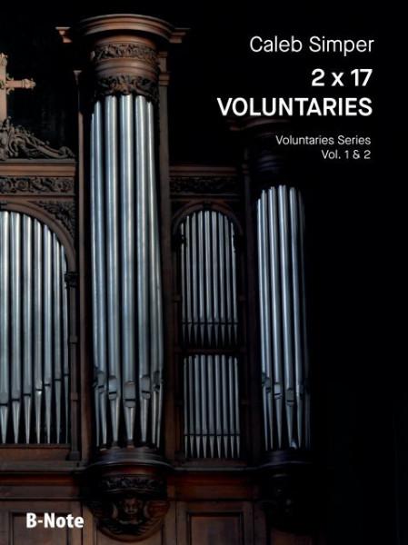 Simper: 2 x 17 Voluntaries for organ (manuals) vol.1/2