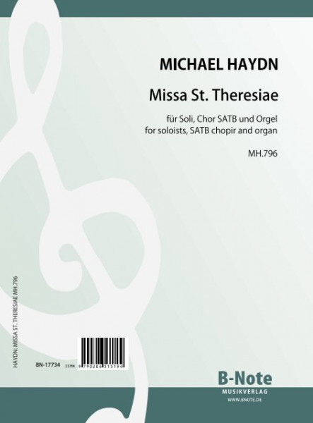 Haydn: Missa St. Theresiae for choir and organ MH.796