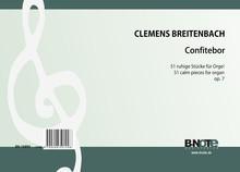 Breitenbach: Confitebor - 51 kleine ruhige Stücke für Orgel (man.) op.7