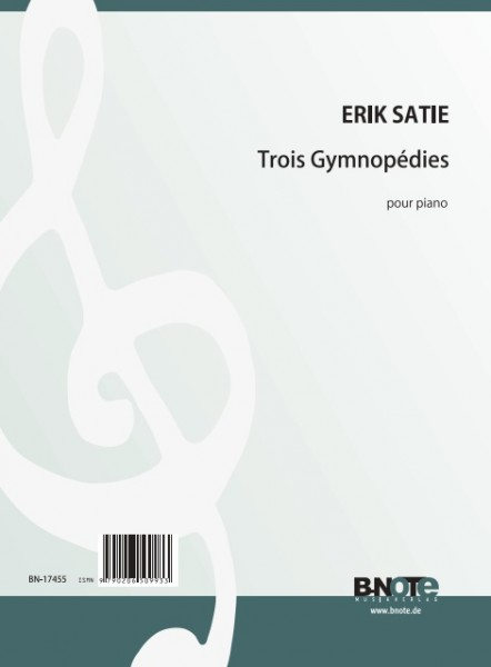 Satie: Three Gymnopédies for piano