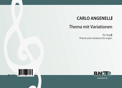 Angelelli: Theme and variations for organ