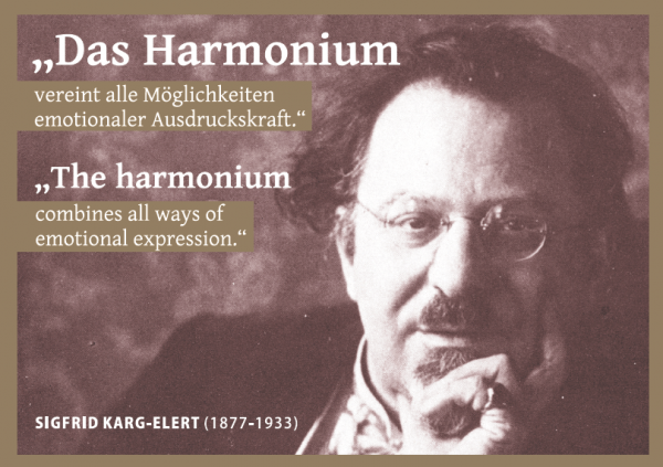 Post Card: The harmonium ...