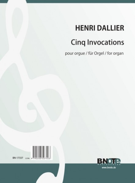 Dallier: Invocations for organ