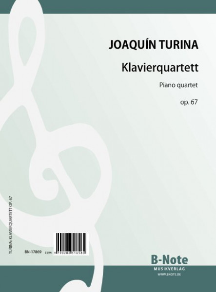 Turina: Piano quartet in a minor op.67