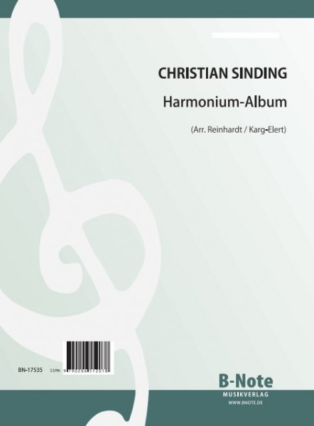 Sinding: Album for harmonium (Arr.)