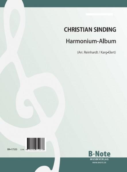 Sinding: Album pour harmonium (Arr.)