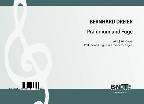 "Dreier: Prelude and fugue in e minor on ""Hüter, wird die Nacht der Sünde"" for organ"