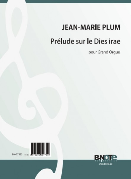 "Plum: Prélude on ""Dies irae"" for organ"