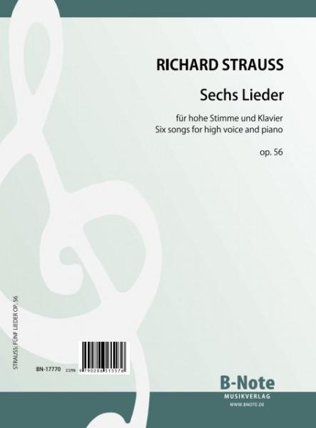 Strauss: Sechs Lieder op.56