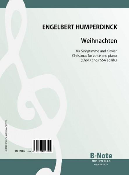 Humperdinck: Weihnachten (Noël) pour voix et piano