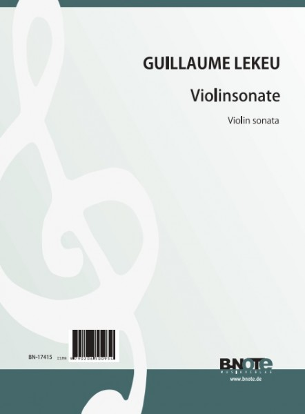 Lekeu: Sonate für Violine und Klavier