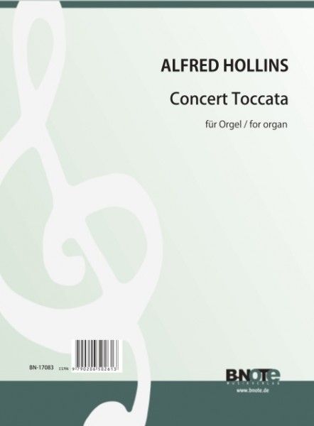 Hollins: Concert Toccata for organ
