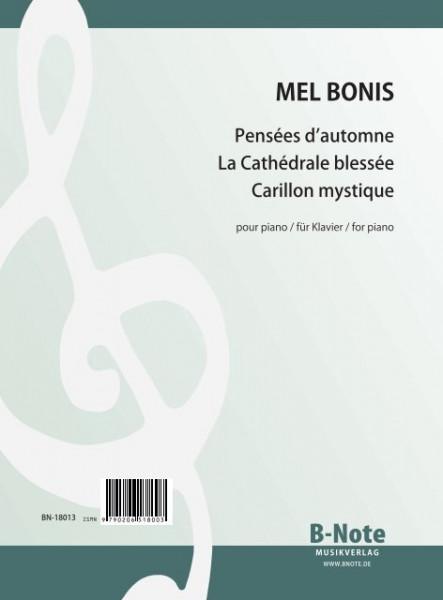 Bonis: Drei ausgewählte Klavierstücke