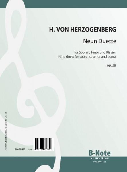 Herzogenberg: Nine duets for soprano, tenor and piano op.38