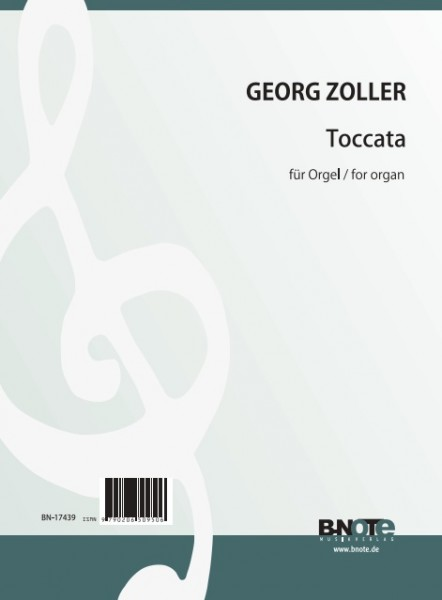 Zoller: Toccata in D for organ