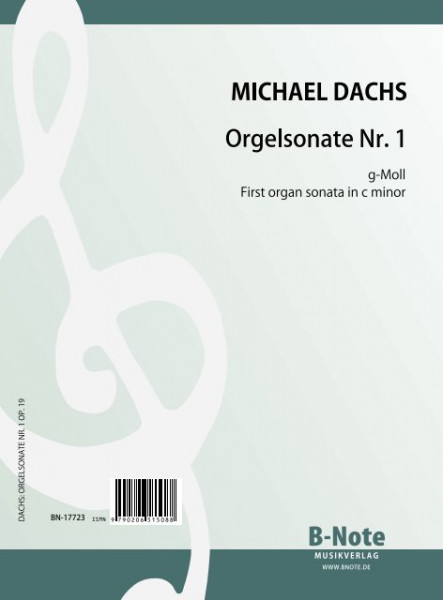 Dachs: First organ sonata in g minor op.19