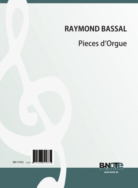 Bassal: Pieces d'Orgue
