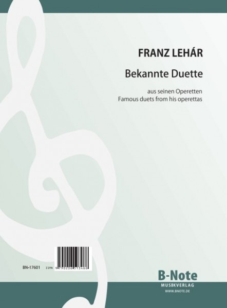 Lehár: Famous duets of his operettas