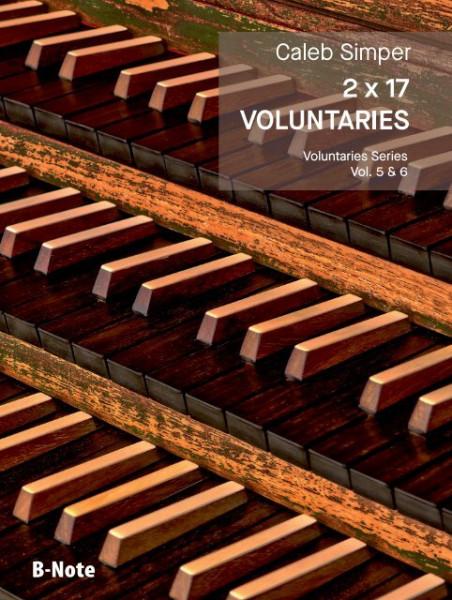 Simper: 2 x 17 Voluntaries für Orgel (man.) Vol. 5/6